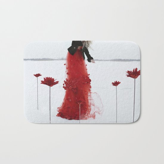 Your life is your garden Bath Mat