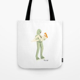 The Creature from Black Lagoon Tote Bag