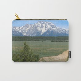 Snake River And Grand Teton Range Carry-All Pouch