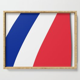 Team France #france #paris #french #lesbleus #russia #football #worldcup #soccer #fan #moscow2018 Serving Tray