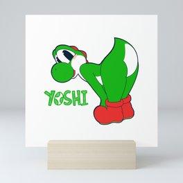 Yoshi Backside Mini Art Print