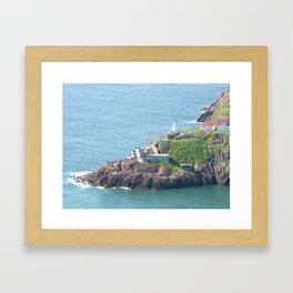 Newfoundland, St Johns, Easternmost point of North America Framed Art Print