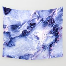 Purple Marble Wall Tapestry