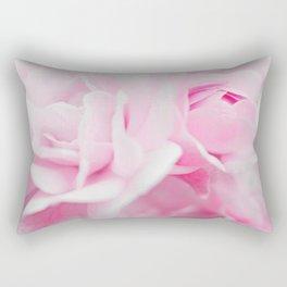 Sweet Pink Roses Rectangular Pillow
