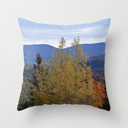 Mont Albert Quebec Throw Pillow