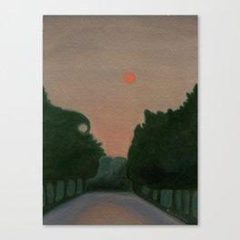 Wildfire Haze Canvas Print