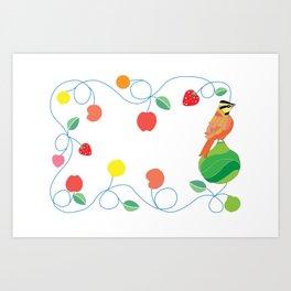 Kitchen comemaiz Art Print