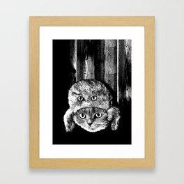 Lumberjack Flash Framed Art Print