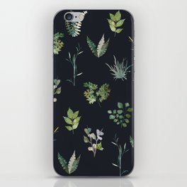 Green Nature Pattern iPhone Skin