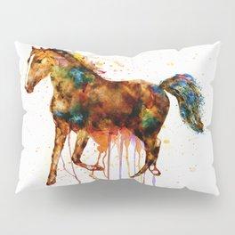Watercolor Horse Pillow Sham