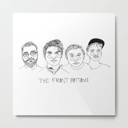 The Front Bottoms Metal Print
