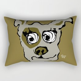 Bandit - oker Rectangular Pillow