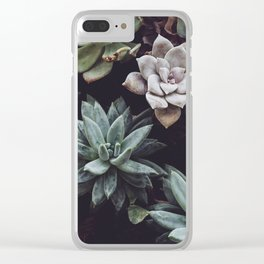 Floral Type Of Love Clear iPhone Case