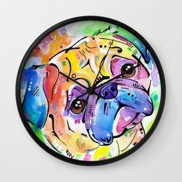 Pugsly Wall Clock