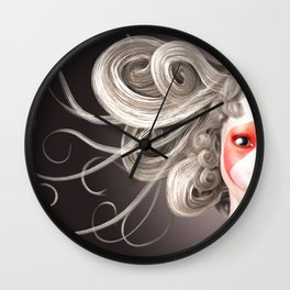 Japanese fashion model Wall Clock