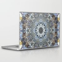 kaleidoscope Laptop & iPad Skins featuring Kaleidoscope by Tina Sieben