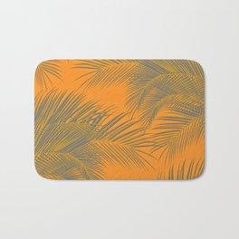 Palm Trees, summer beach Bath Mat