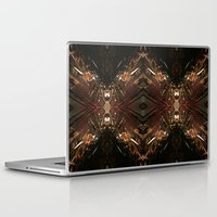 battlestar galactica Laptop & iPad Skins featuring Galactica by Robin Curtiss