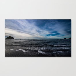 Tide Take Me Away Canvas Print