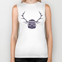 into the wild Biker Tanks featuring wild by The Junkers