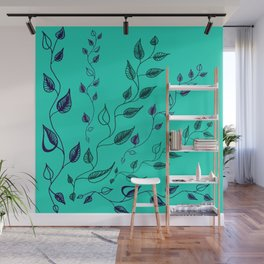 vines in limelight Wall Mural
