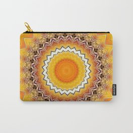 Sunny Side Bubble Dot Pattern 7 Carry-All Pouch