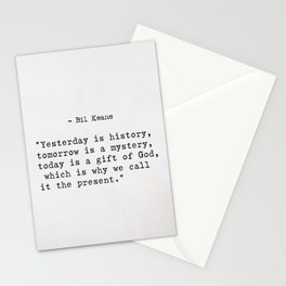 Bil Keane quote Stationery Cards