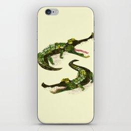 Crocodiles iPhone Skin