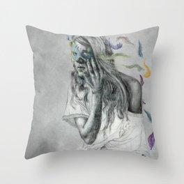Floats Away Throw Pillow