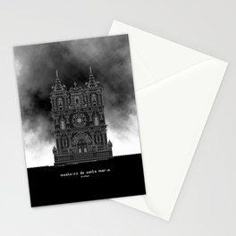 HexArchi - Portugal, Alcobaça, Mosteiro de Santa Maria . Igreja Stationery Cards