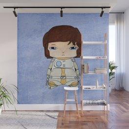 A Boy - Captain Future aka Capitaine Flam Wall Mural