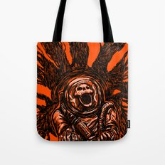 A Spacesuit Has Been Compromised Tote Bag