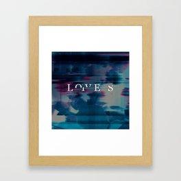l/l Framed Art Print