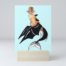 Pancake Batfish Mini Art Print