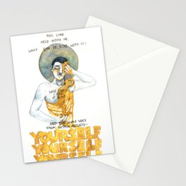 the divine voice within answers Stationery Cards