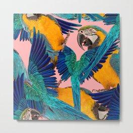 Ara Parrot Metal Print