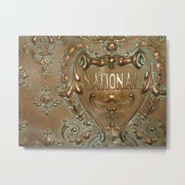 National by Lika Ramati Metal Print