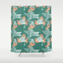 Lilies that sting Shower Curtain