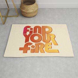 Find your fire no2 Rug