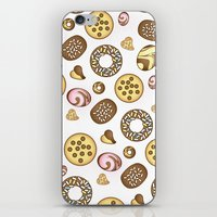 cookies iPhone & iPod Skins featuring Cookies ♥ by Martina Marzullo Art