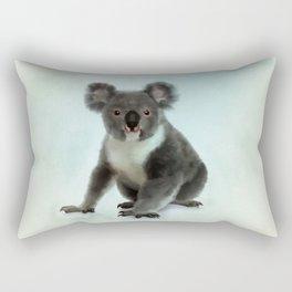 Koala Bear Digital Art Rectangular Pillow