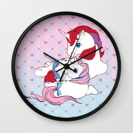 g1 my little pony Moondancer and baby Wall Clock