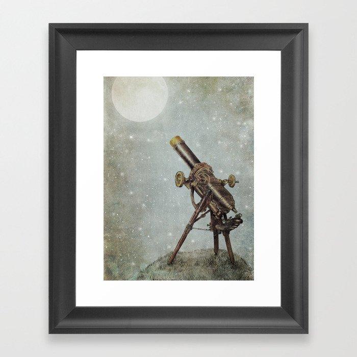 Moonrise Gerahmter Kunstdruck