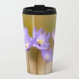 Anemone hepatica II Travel Mug