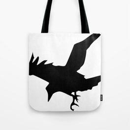 Raven A Halloween Bird Of Prey  Tote Bag