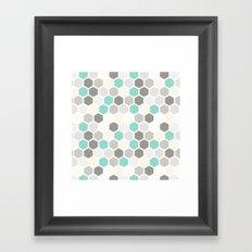 Geometric one Framed Art Print
