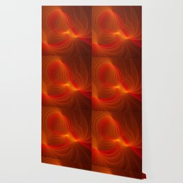 Much Warmth, Abstract Fractal Art Wallpaper
