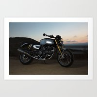 ducati Art Prints featuring Ducati 005 by Austin Winchell