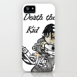 Death the kid iPhone Case