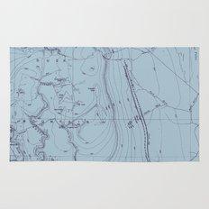 Contour Mapping v.2 Rug